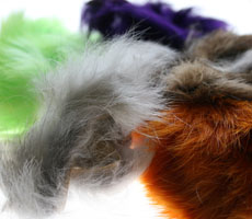 Rabbit Fur Zonker Strip